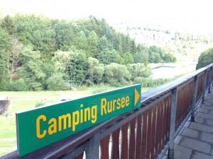 Camping Rursee Beschilderung