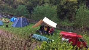 Zelten, Campen ind der Natur
